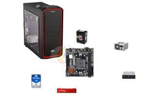 AMD A6-5400K Trinity Dual-Core 3.6GHz, A88X mITX MOBO, HpyerX 8GB DDR3, WD Blue 1TB HDD, LOGISYS 480W PSU, ENERMAX Clipeus ...