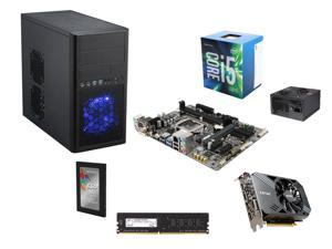 Intel Core i5-6500 Skylake Quad-Core 3.2GHz CPU, H110 mATX MOBO, G.SKILL NT Series 8GB DDR4 2400 MEM, ZOTAC GeForce GTX 1060 ...