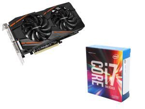 GIGABYTE Radeon RX 470 G1 Gaming 4GB VGA, Intel Core i7-6700K Skylake Quad-Core 4.0Ghz CPU