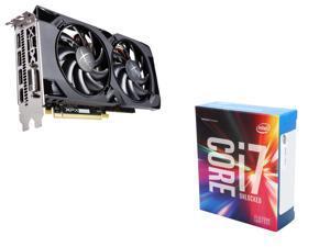XFX Radeon RX 470 RS 4GB VGA, Intel Core i7-6700K Skylake Quad-Core 4.0Ghz CPU