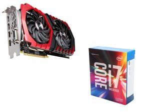 MSI Radeon RX 470 DirectX 12 RX 470 8GB VGA, Intel Core i7-6700K Skylake Quad-Core 4.0Ghz CPU