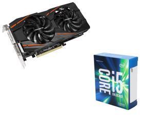 GIGABYTE Radeon RX 470 G1 Gaming 4GB VGA, Intel i5-6600K Skylake 3.5Ghz CPU