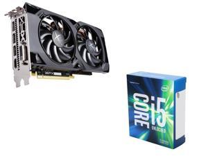 XFX Radeon RX 470 RS 4GB VGA, Intel i5-6600K Skylake 3.5Ghz CPU