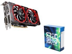 XFX Radeon RX 460 4GB VGA, Intel i5-6600K Skylake 3.5Ghz CPU