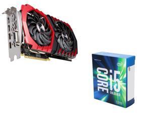 MSI Radeon RX 470 DirectX 12 RX 470 8GB VGA, Intel i5-6600K Skylake 3.5Ghz CPU