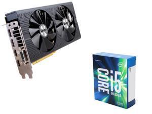 SAPPHIRE NITRO+ Radeon RX 470 4GB VGA, Intel i5-6600K Skylake 3.5Ghz CPU