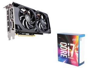 XFX Radeon RX 470 RS 4GB VGA, Intel Core i7-6800K Broadwell-E 6-Core 3.4GHz CPU