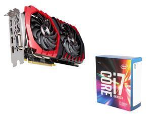 MSI Radeon RX 470 DirectX 12 RX 470 8GB VGA, Intel Core i7-6800K Broadwell-E 6-Core 3.4GHz CPU