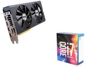 SAPPHIRE NITRO+ Radeon RX 470 4GB VGA, Intel Core i7-6800K Broadwell-E 6-Core 3.4GHz CPU