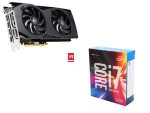 XFX Radeon RX 480 8GB VGA, Intel Core i7-6700K Skylake Quad-Core 4.0Ghz CPU
