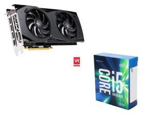 XFX Radeon RX 480 8GB VGA, Intel i5-6600K Skylake 3.5Ghz CPU