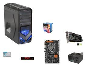 Intel Core i7-6700 Skylake Quad-Core 3.4GHz CPU, ASRock Z170A-X1/3.1 ATX MOBO, G.SKILL Aegis 8GB DDR4 2133, Rosewill Galaxy-01 ...