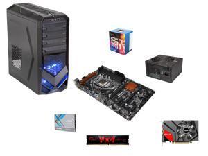 Intel i7-6700 3.4GHz Quad-Core, AMD 970, 8GB DDR3, Gaming ATX Mid Tower, GTX 950 3GB, 500W PSU, 240GB SSD