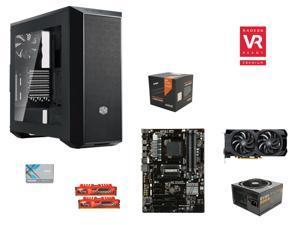 VR Ready Combo: AMD FX-6350 Vishera 6-Core 3.9GHz CPU w/ Wraith CPU Cooler, GIGABYTE GA-970A-D3P ATX, G.SKILL Ripjaws X Series ...