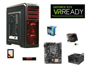 VR Ready Combo: Intel Core i5-6500 Skylake Quad-Core 3.2GHz CPU, ASUS H110M-E/M.2 mATX MOBO, G.SKILL Aegis 8GB DDR4 2133 ...