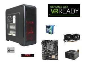 VR Ready Combo: Intel Core i5-6600 Skylake Quad-Core 3.3GHz CPU, ASUS H110M-E/M.2 mATX MOBO, G.SKILL Aegis 8GB DDR4 2133 ...