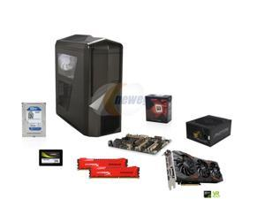Cruiser Class GAA-K160M: AMD FX-8350 4.0GHz 8-Core, Asus Sabertooth 990FX, HyperX Savage 16GB DDR3 2133, WD Blue 1TB HDD, ...
