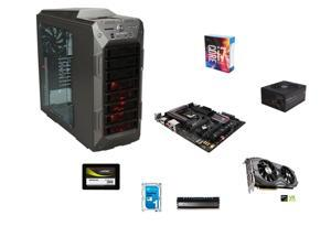 Intel i7-6700K 4.0GHz Quad-Core, ASUS MAXIMUS VIII RANGER Z170, 8GB DDR4 2400, GTX 1080 8GB, 240GB SSD, 1TB HDD, ATX Full ...
