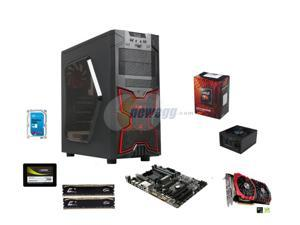 AMD FX-6300 Vishera 3.5GHz Six-Core CPU, GIGABYTE 970 MOBO, 16GB DDR3, GTX 1060 6GB, Mushkin Enhanced ECO 120GB SSD, Seagate ...