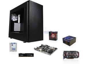 AMD FX-8350 4.0GHz 8-Core CPU, GIGABYTE 970 AM3+ MOBO, HyperX Fury 8GB MEM,  WD Blue 1TB HDD, ASUS GTX 750 Ti 2GB, RAIDMAX ...