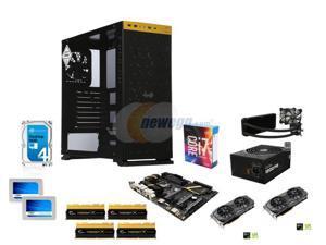 Intel Core i7-6700K Skylake Quad-Core 4.0GHz, Gigabyte GA-Z170X-UD5 MOBO, G.SkilL TridentX Series 32GB DDR4 2800, (2x) GTX ...
