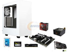 VR Ready Combo: AMD FX-8320 Vishera 8-Core 3.5GHz CPU, MSI 970A SLI Krait Edition ATX MOBO, HyperX FURY 8GB DDR3 1600 MEM, ...