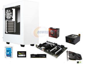 VR Ready Combo: AMD FX-8320 Vishera 8-Core 3.5GHz CPU, MSI 970A SLI Krait Edition ATX MOBO, HyperX FURY 8GB DDR3 1600 MEM, ...