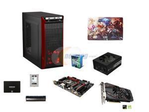 Intel i5-6500 Skylake 3.2GHz Quad-Core CPU, GIGABYTE G1 H170 MOBO, 8GB DDR4 2400, GTX 1060 6GB, Samsung 850 EVO 250GB SSD, ...