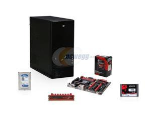 AMD A10-7860K with quiet cooler Quad-Core, ASUS A88, 4GB DDR3, ATX Mid Tower Case, 1TB, 120GB SSD
