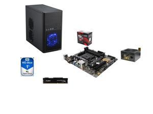 Line-M Ninja Series GAG-9142M: AMD A10-7860K with quiet cooler Quad-Core, ASUS A88, mATX Mid Tower Case, 8GB DDR3,1TB HDD, ...