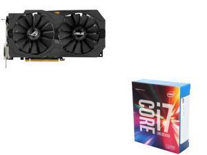 ASUS RX 470 4GB VGA, Intel i7-6700K 4.0Ghz Quad-Core