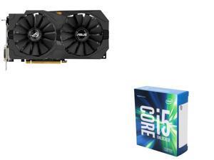 ASUS RX 470 4GB VGA, Intel i5-6600K 3.5Ghz Quad-Core
