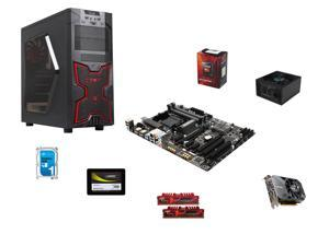 AMD FX-6300 3.5GHz 6-Core, AMD 970, 16GB DDR3, 600W PSU, 16GB DDR3, 1TB, GTX 1060 3GB, ATX Mid Tower Case