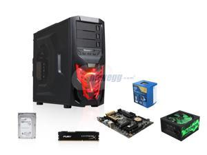 Intel i5-4690 3.5Ghz Quad-Core, Z97, 8GB DDR3, ATX Mid Tower Case, 600W PSU, 12GB SSD