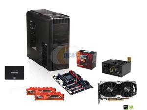 AMD FX-8350 4.0GHz 8-Core, AMD 990, GTX 1070 8GB, 600W PSU, ATX Mid Tower, 500GB SSD, 8GB DDR3
