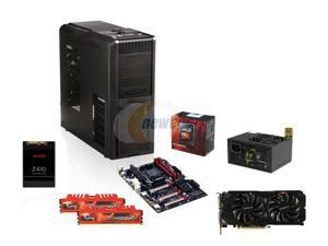 AMD FX-8350 4.0GHz 8-Core, AMD 990, GTX 1070 8GB, 600W PSU, ATX Mid Tower, 120GB SSD, 8GB DDR3