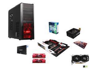 Intel i5-6600K 3.5Ghz Quad-Core, Z170, 16GB DDR4 2400, GTX 1070 8GB, 500GB SSD, 750W PSU, ATX Mid Tower, gaming mouse pad