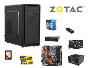 ARZ COMBO: Intel Core i3-6100 3.7GHz, ASRock H110M-HDS mATX, GeIL EVO FORZA 8GB DDR4 2133, ZOTAC GeForce GTX 1060 Mini 3GB, ...