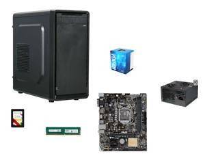 Special Savings Full Solution SuperCombo: Intel Core Pentium G4400 Skylake Dual-Core 3.3GHz CPU, ASUS H110M-E/M.2 mATX MOBO, ...