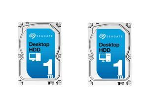 "Shell Shocker SuperCombo Storage Savings: (2x) Seagate Desktop HDD ST1000DM003 1TB 64MB Cache SATA 6.0Gb/s 3.5"" ..."