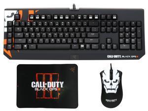 Razer Mechanical Gaming Keyboard + DeathAdder Mouse + Mat