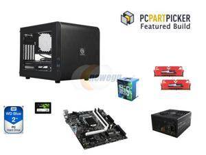 Intel Core i5-6500 6M Skylake Quad-Core 3.2GHz CPU, MSI Gaming B150M BAZOOKA mATX MOBO, 16GB DDR4 2400 MEM, 2TB HDD, TT Core ...