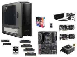 Intel Core i7-6700K Quad-Core 4.0GHz, EVGA Z170 Classified K, G.SKILL 32GB DDR4 2800Mhz, WD Black 5TB HDD, (2x) SAMSUNG 950 ...