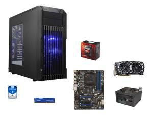 8-Core Gaming Combo: AMD FX-8350 Black Edition Vishera 8-Core 4.0GHz, MSI 970A-G43 ATX MOBO, HyperX FURY 8GB DDR3 1866, WD ...