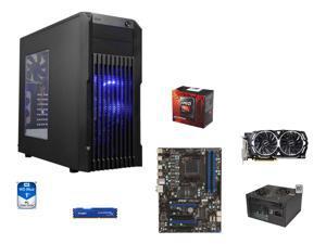 8-Core Gaming Combo: AMD FX-8350 Black Edition Vishera 8-Core 4.0GHz, MSI 970A-G43 ATX MOBO, HyperX FURY 8GB DDR3 1866, WD ...