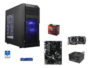8-Core Gaming Combo: AMD FX-8350 Black Edition Vishera 8-Core 4.0GHz, MSI 970A-G43 Plus ATX MOBO, HyperX FURY 8GB DDR3 1866, ...