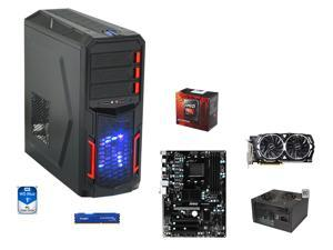 VR Ready Combo: AMD FX-8350 Black Edition Vishera 8-Core 4.0GHz, MSI 970A-G43 Plus ATX MOBO, HyperX FURY 8GB DDR3 1866, WD ...