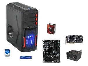 Gaming Combo: AMD FX-6300 Vishera 6-Core 3.5GHz, MSI 970A-G43 Plus ATX MOBO, HyperX FURY 8GB DDR3 1866, WD Blue 1TB HDD, ...