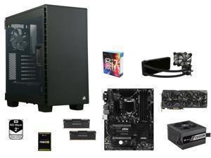Blackout Series: Intel Core i7-6700K Skylake Quad-Core 4.0GHz, MSI Z170A SLI Plus ATX, CORSAIR 16GB DDR4 2666, Corsair Force ...
