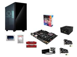 Blizzcon Combo: Intel i7-6700K 4.0 GHz Quad-Core, ASUS Z170 LGA 1151, G.Skill 32GB DDR4 2400, Corsair H100i Cooler, 2 x ASUS ...